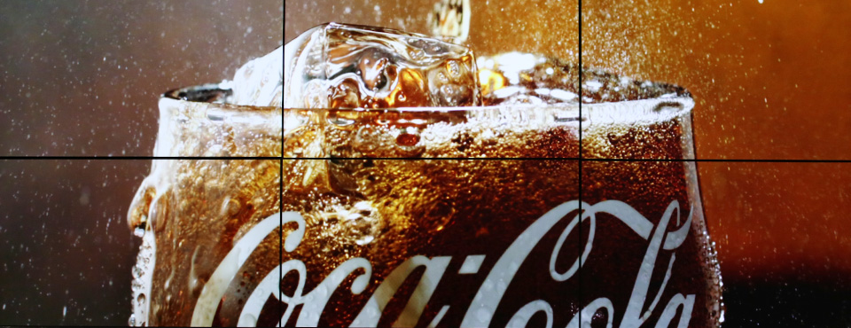 Digital Signage - Coca Cola